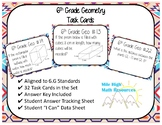 6th Grade Geometry Task Cards