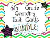 6th Grade Geometry Task Cards Bundle ~CCSS 6.G.1, 6.G.2, 6.G.3, 6.G.4