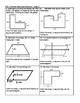 6th Grade Module 5 Task cards - Editable -Geometry Practice and Test Prep