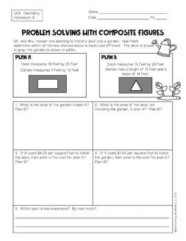 6th Grade Geometry Unit: 6.G.1, 6.G.2, 6.G.4