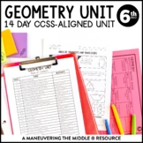 Geometry Unit: 6th Grade Math 6.G.1, 6.G.2, 6.G.4