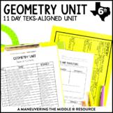 6th Grade Geometry Unit: TEKS