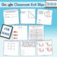 6th Grade Google Classroom Math Exit Slips, Auto-Graded Exit Tickets, Digital
