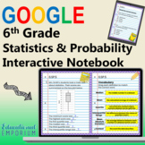 6th Grade Math Interactive Notebook ⭐ SP Domain for Google Classroom™