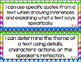 5th Grade Grade ELA I Can Statements for CCSS Standards (Rainbow Chevron)