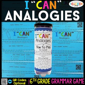 6th Grade Analogies Game