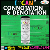 6th Grade Connotation & Denotation Game