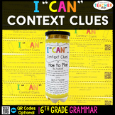 6th Grade Context Clues Game