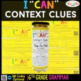 6th Grade Context Clues Game