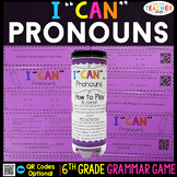 6th Grade Pronouns Game | Subjective, Objective, Possessiv