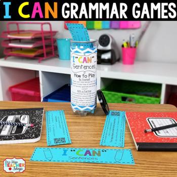 6th Grade Grammar Games | 6th Grade Grammar Centers Bundle