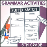 Grammar Games | 6th Grade | Lessons and Activities