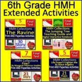 6th Grade HMH Collections Growing Bundle!  Grade 6 HMH Activities and Tests