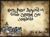 6th Grade Harry Potter Inspired Reading/ELA I Can Statements