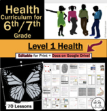6th Grade Health for Middle School / 7th Grade Health for