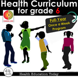 6th Grade Health Made Easy: NEW!!! Full Year 6th Grade Hea