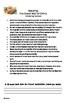 Common Core 6th Grade Homework Packet #4