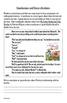 Common Core 6th Grade Homework Packet #6
