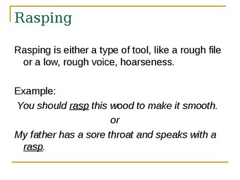 6th Grade Houghton Mifflin Theme 1 Week 1 Day 1 Vocabulary