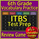 6th Grade ITBS Test Prep Vocabulary Review Game Iowa Basic Skills