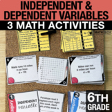 6th Grade Independent and Dependent Variables   6th Grade