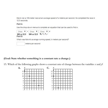 6th Grade Inequality and Linear Equation Study Guide