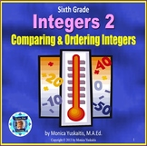 6th Grade Integers 2 Comparing and Ordering Integers Power