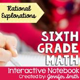 Sixth Grade Math Rational Expressions Interactive Notebook Unit