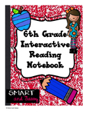 6th Grade Interactive Reading Notebook TEKS Aligned