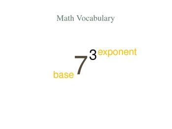 6th Grade Intro to Exponents