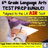 6th Grade LA Test Prep Bundle: aligned to the AIR test!