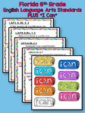 6th Grade Language Arts Standards (Florida)