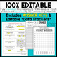 6th Grade Language Assessments | Weekly Spiral Assessments for ENTIRE YEAR