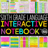 6th Grade Language Interactive Notebook  Grammar Interactive Notebook