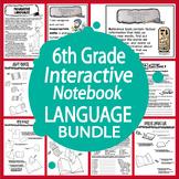 6th Grade LANGUAGE Bundle–Daily Grammar Practice + 6th Gra