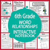 Word Relationships (Analogies, Connotations, Denotations) Interactive Notebook