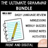 6th Grade | Language and Grammar| Daily Language Review Bundle