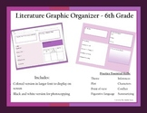 6th Grade Literature Graphic Organizer