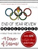 6th Grade {MATHLYMPICS}: End of Year Review Competetion
