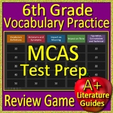 6th Grade MCAS Test Prep Vocabulary Practice Review Game