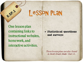 6th Grade Math:  6.SP.1:  One Lesson Plan