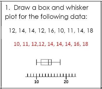 6th Grade Math:  6.SP.4 Mini-Assessments