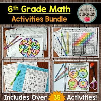 6th Grade Math Activities