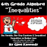 6th Grade Algebra Inequalities Unit