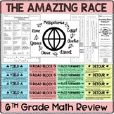 Amazing Race Math Testing Review EDITABLE