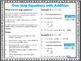 6th Grade Math Anchor Charts: Expressions and Equations Bundle