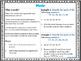 6th Grade Math Anchor Charts: Statistics and Probability Bundle