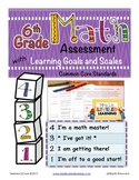 6th Grade Math Assessment with Learning Goals & Scales - A
