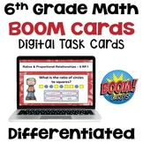 6th Grade Math Boom Card BUNDLE