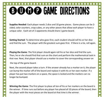 44 Math Center Games - 6th Grade Math Bump Games - Growing Bundle!